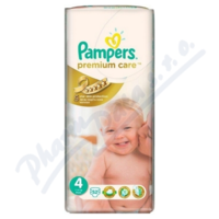 PAMPERS Premium Care 4 maxi 7-18kg 52ks