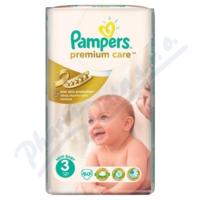 PAMPERS Premium Care 3 Midi 4-9kg 60ks