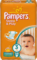Pampers Sleep&Play Midi