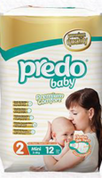 PredoBaby Mini, small pack 12ks