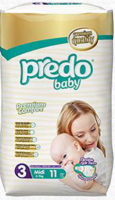 PredoBaby Midi, small pack 11ks