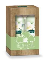 Kneipp Sada sprchová pěna a pěnové tělové mléko Hedvábný květ