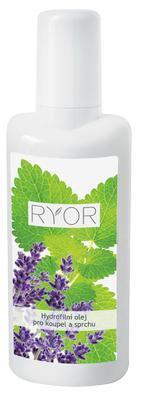 ryor hydrofilní olej pro koupel nohou a sprchu, hydrofilní olej