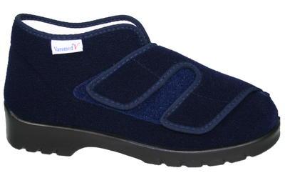 Užší obvazová obuv Varomed Genua, modrá | 39 | H 1/2