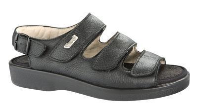 Kožené zdravotní sandály Varomed Turku