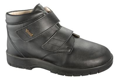 Pánská kotníková kožená obuv Varomed Melbourne, 47 | R