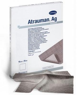 Atrauman® Ag, 10 x 20 cm | 10 ks  - 1