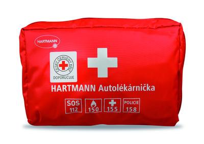 Autolékárnička Hartmann - červená, červená - 1