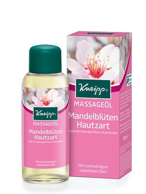 Kneipp Masážní olej Mandlové květy