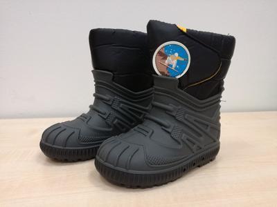 Zimní obuv Bimbo antracite chlapec - 1