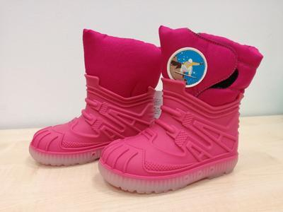 Zimní obuv Bimbo fuxia dívka - 1