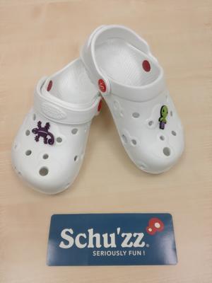 Schuzz baby blanc