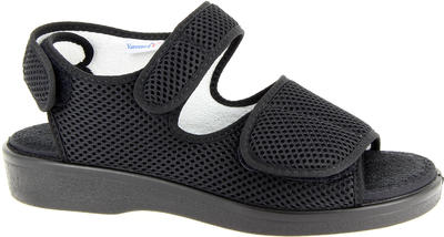 Zdravotní sandály Varomed Genf, černá | 48 | L