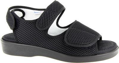 Zdravotní sandály Varomed Genf, černá | 40 | L