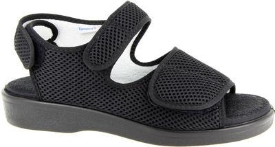 Zdravotní sandály Varomed Genf, černá | 44 | L