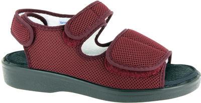 Zdravotní sandály Varomed Genf, červená | 43 | L