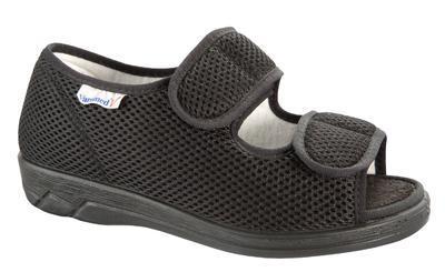 Zdravotní obuv Varomed Göteborg, černá | 43 | L