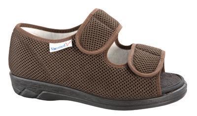 Zdravotní obuv Varomed Göteborg, hnědá | 48 | L