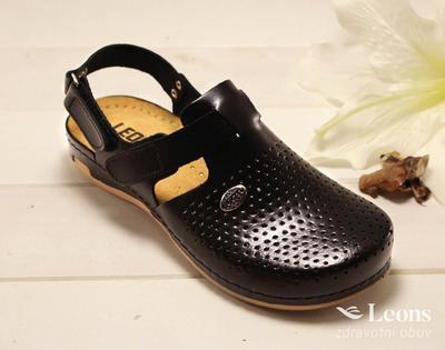 leons 950 v.38 zdrav.obuv černá, Velikost 38 - 1