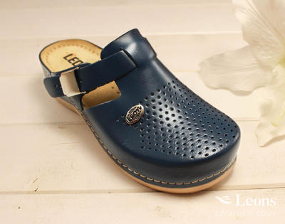 leons 900 v.37 zdrav.obuv modrá, Velikost 37 - 1