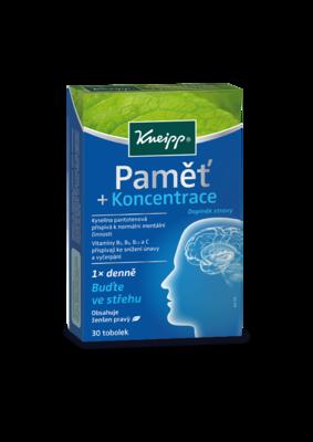 Kneipp® pamět a koncentrace 30tbl.