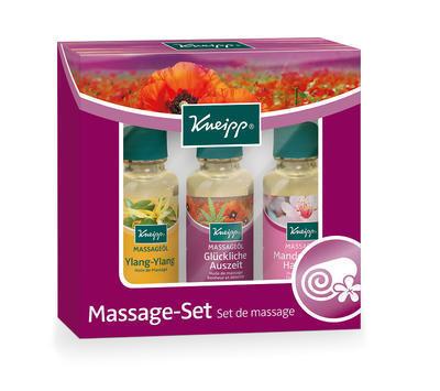 Kneipp® sada masážních olejů 3x20ml
