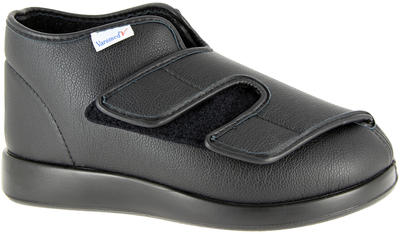 Obvazová obuv Varomed London, černá | 43 | L