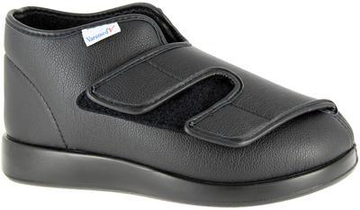 Obvazová obuv Varomed London, černá | 45 | L