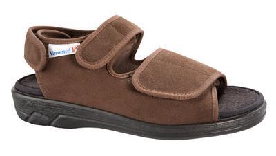 Zdravotní obuv Varomed Lugano, hnědá | 48 | L