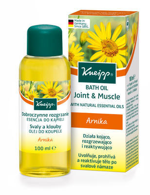 Kneipp® olej do koupele svaly a klouby 100ml - 1