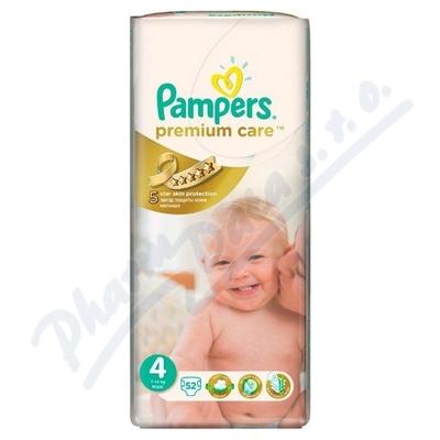 PAMPERS Premium Care 4 maxi 7-18kg 52ks