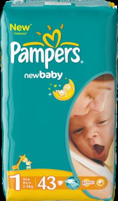 Pampers Active Baby Newborn