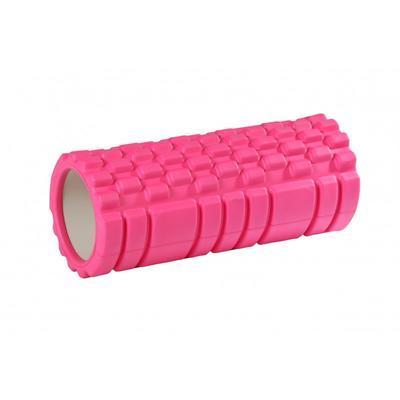 Fitness válec na cvičení - růžový