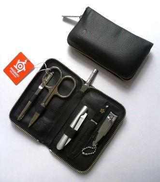 Pfeilring Original Solingen Luxusní manikúrová sada 9523 Černá - 1