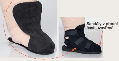 Vložka do lymfatických sandálů Varomed, 41 | levá | R