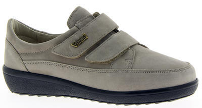 Dámská kožená bota Varomed Avignon, šedá | 36,5 | K