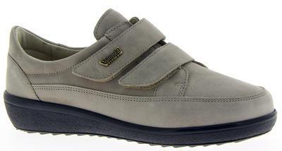 Dámská kožená bota Varomed Avignon, šedá | 39 | K