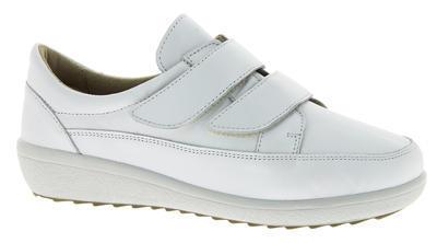 Dámská kožená bota Varomed Avignon, bílá | 41 | K - 1