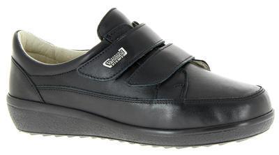 Dámská kožená bota Varomed Avignon, černá | 39 | K