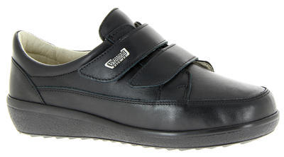 Dámská kožená bota Varomed Avignon, černá | 40 | K