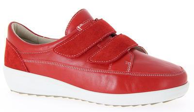 Dámská kožená bota Varomed Avignon, červená | 38,5 | K