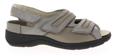 Dámské sandály Varomed Berlin, šedá | 35 | H 1/2 - 1