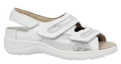 Dámské sandály Varomed Berlin, bílá | 36,5 | H 1/2