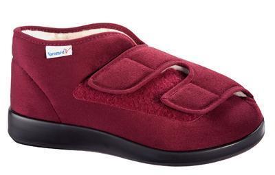 Zimní kotníkové boty Varomed Genua II, červená | 40 | L