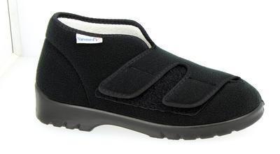 Užší obvazová obuv Varomed Genua, černá | 36 | H 1/2