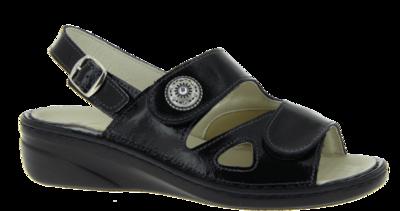 Zdravotnické sandále Varomed Isabell, černá | 38 | H