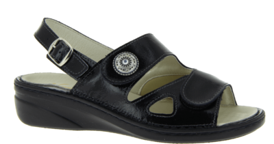 Zdravotnické sandále Varomed Isabell, černá | 41 | H