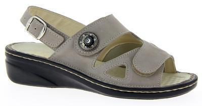 Zdravotnické sandále Varomed Isabell, šedá | 38 | H