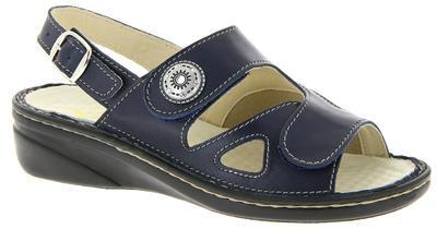 Zdravotnické sandále Varomed Isabell, tmavě modrá | 38 | H