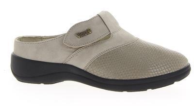 Zdravotnické pantofle Varomed Ischia, šedá | 41 | H 1/2 - 1